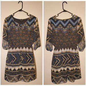 EnFocus Studio Peasant Style Dress Size 12